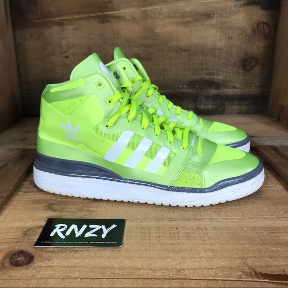 new styles 1b50e 004a9 adidas Other - Adidas Forum Mid Crazylight Neon
